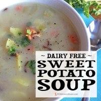 Dairy Free Sweet Potato Soup