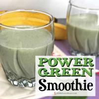 Easy Power Green Smoothie