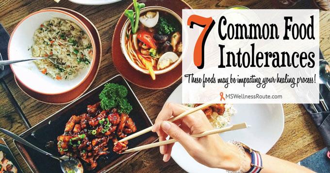 7 Common Food Intolerances