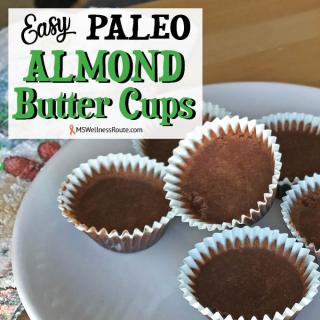Easy Paleo Almond Butter Cups