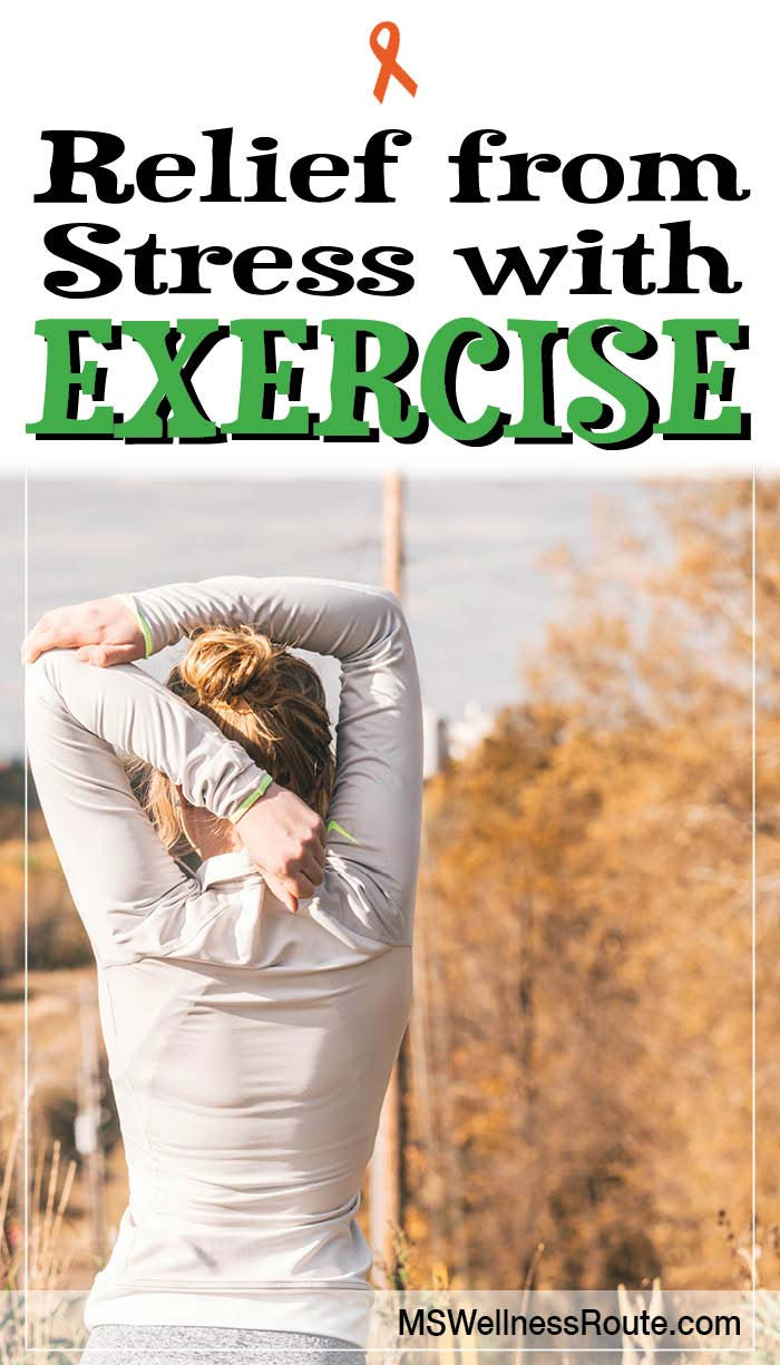 Sometimes life gets complicated and stress is hard to avoid. Instead of getting depressed learn how to manage it and get relief from stress with exercise!