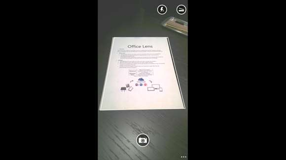 Microsoft Office Lens Demo 1