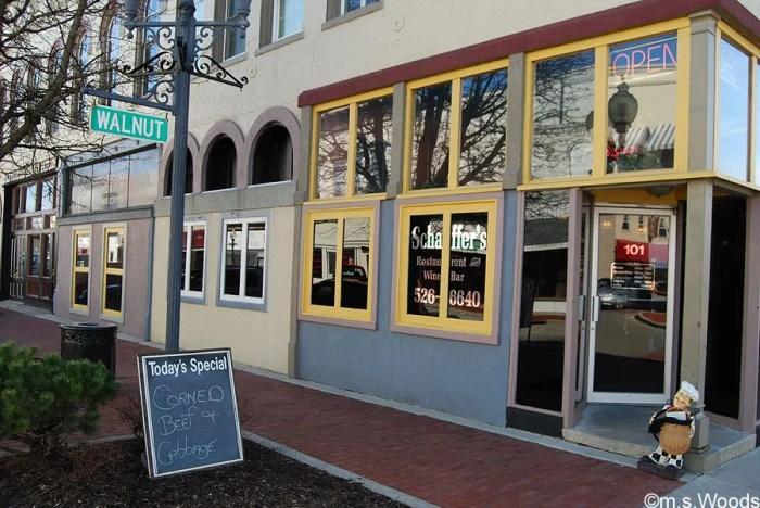 Schaffers-Restaurant-Downtown-Avon-Indiana
