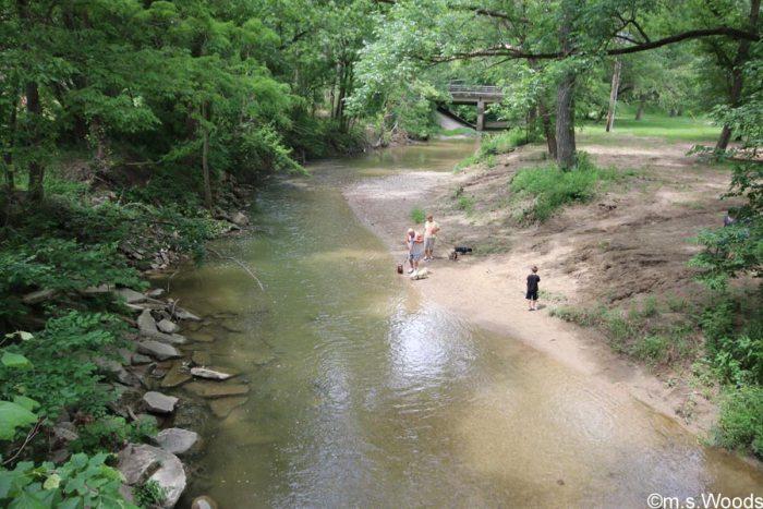stream-ellis-park-danville-indiana