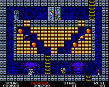 Mock Up de King's Valley 2 para Amstrad CPC