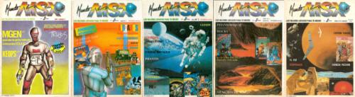 5 portadas Mundo MSX