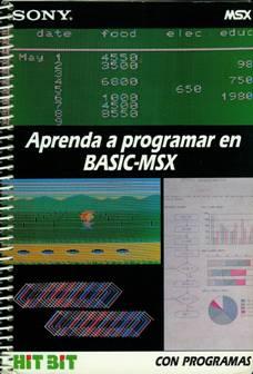 Aprenda a programar BASIC-MSX - Portada