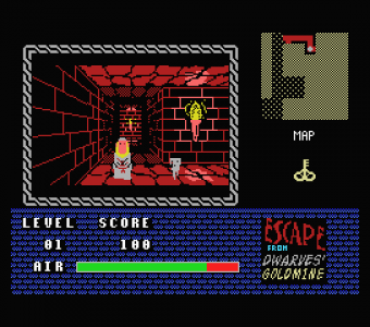 Escape from Dwarves Gold Mine - Captura de pantalla