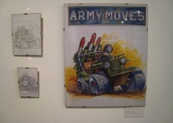 Exposición Del pincel al píxel - Army Moves