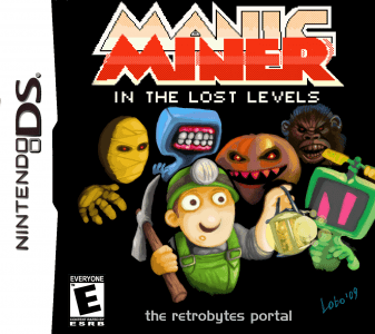 Manic Miner Lost Levels - Portada