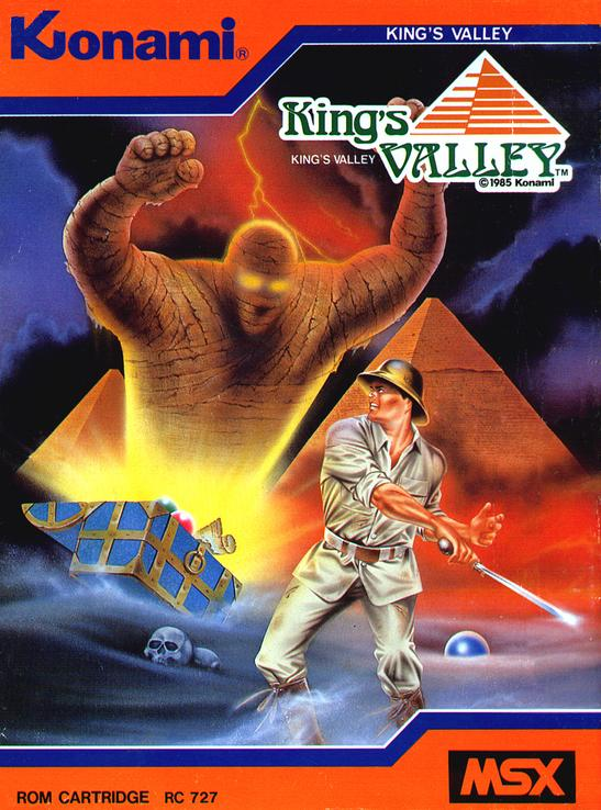 Carátula de King's Valley (Konami, 1985)