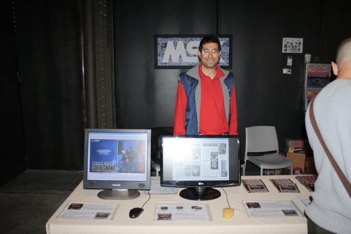 Expositor de Martos en RetroMadrid 2012