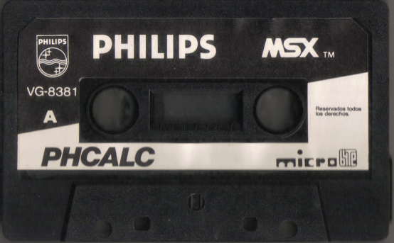 PHCalc (Philips, 1985) (Tape, side A)