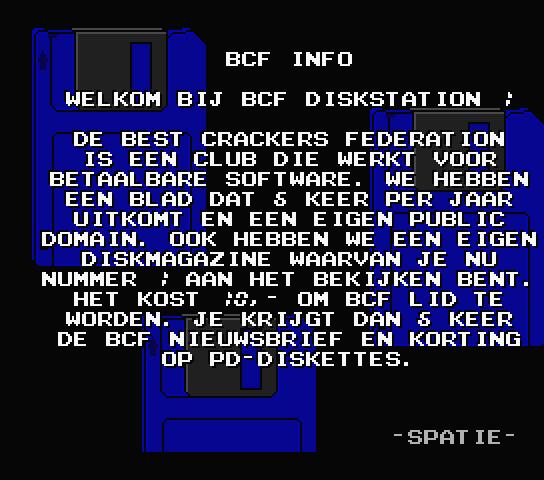 BCF Disk Station #1 (BCF, 1990) (6)