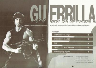 Manual de Super Rambo Special (español)