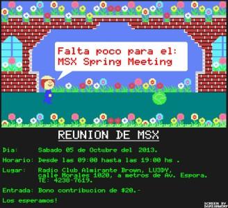 MSX Spring Meeting