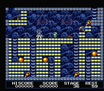 Kings Valley II (Konami, 1988) (MSX2) (4)