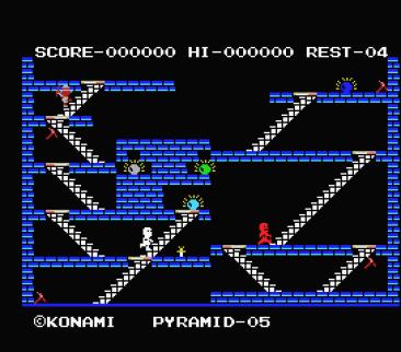 Kings Valley (Konami, 1985) (2)