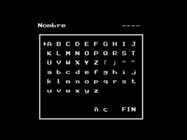 Shalom (Konami, 1987) (MSX2 version by Ramones) (3)