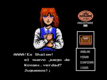Shalom (Konami, 1987) (MSX2 version by Ramones) (5)