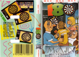 180 (Mastertronic, 1985) (Cover)