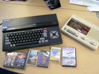 MSX con juegos (www.vandal.net)