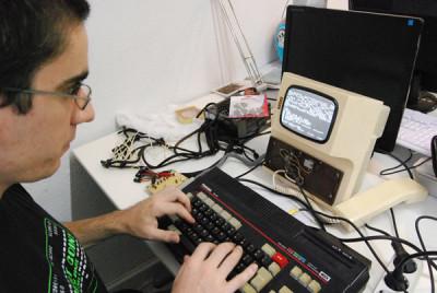 MSX en un videoportero (fuente: Flickr)