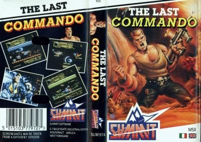 The Last Commando (Summit, 1988) (Commando Tracer) (Carátula)