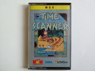 Time Scanner (Activision, 1989) (Front cover)