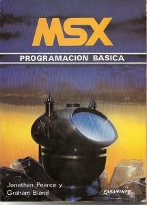 """Portada del libro """"MSX Programacion Básica"""""""