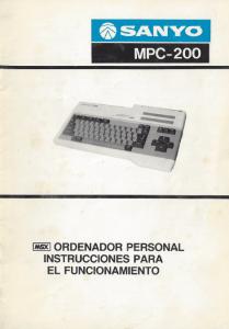 Manual de usuario Sanyo MPC-200