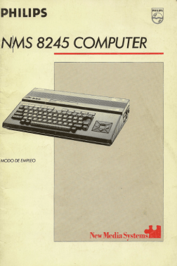 Manual Philips NMS 8245