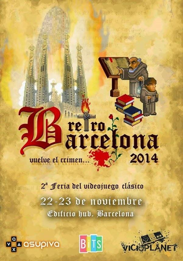 Cartel de RetroBarcelona 2014