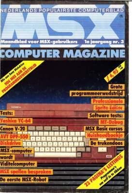 MSX Computer Magazine #03
