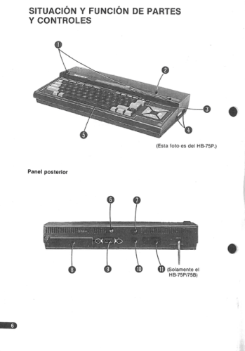 Manual Sony HB-55P