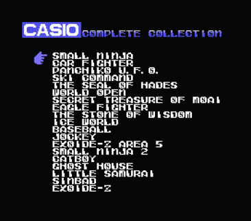 Casio Complete Collection
