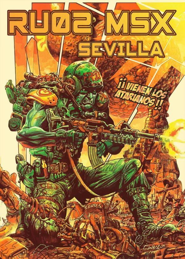 Cartel RU02 Sevilla