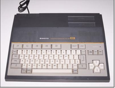 Sanyo PHC-28, uno de los primeros de la ola MSX en Europa