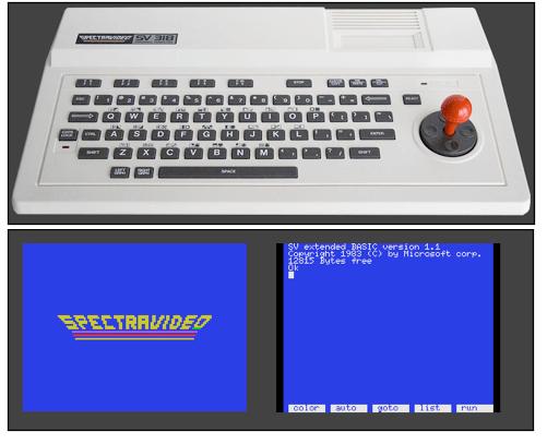 Spectravideo SV-318