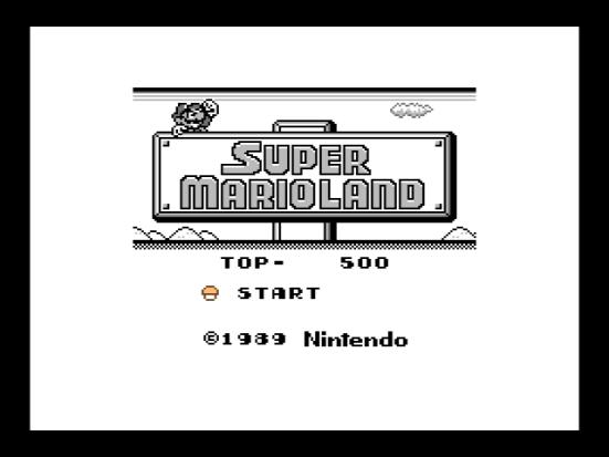 Ejecutando Super Mario Land