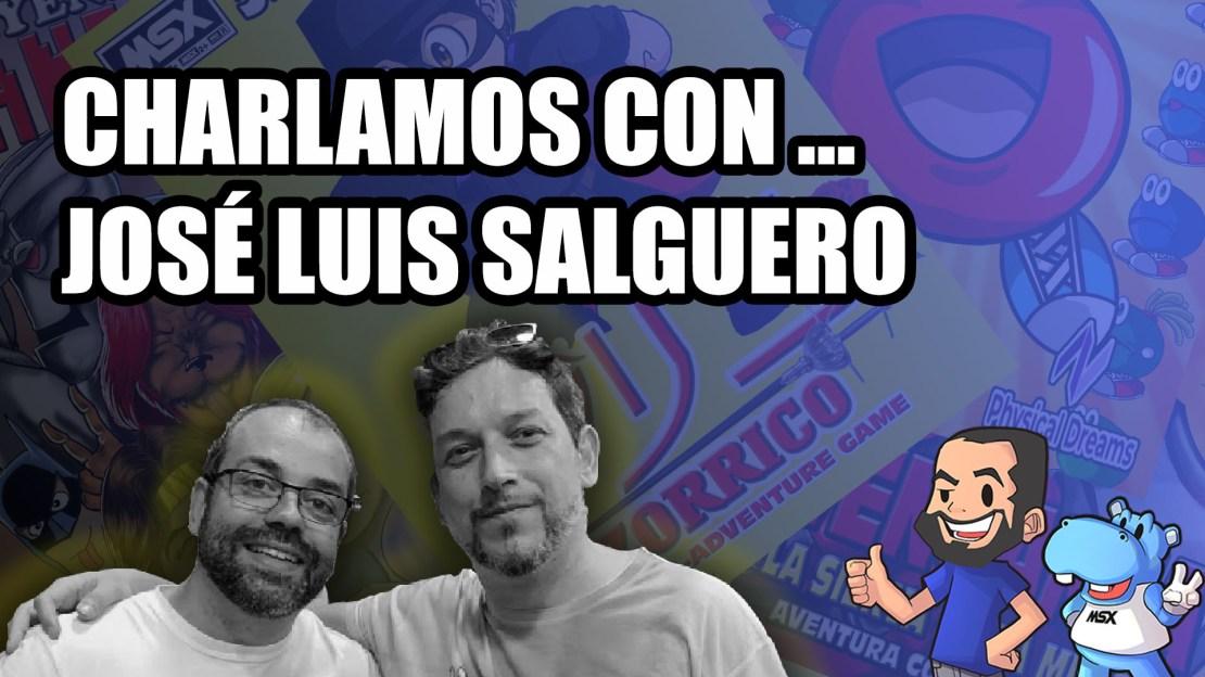 José Luis Salguero en el canal de MSXBlog en YouTube