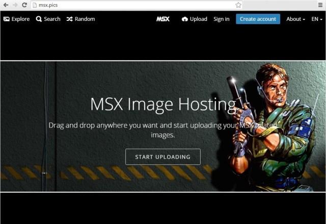 MSX Image Hosting