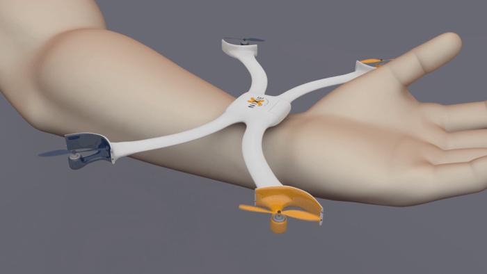 Giyilebilir Teknolojide Bir İlk Drone Nixie