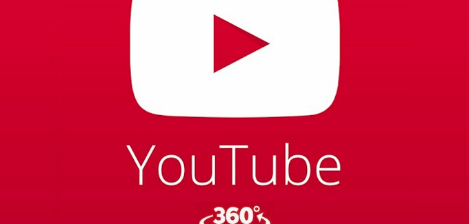 Youtube'a Panaromik Video Desteği
