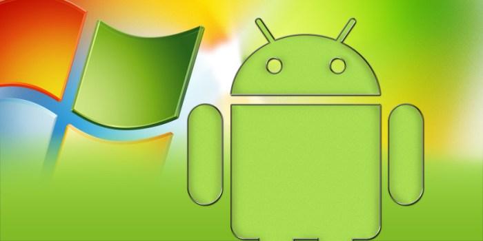 Android Uygulamalar Windows 10 Mobile'da Çalışacak