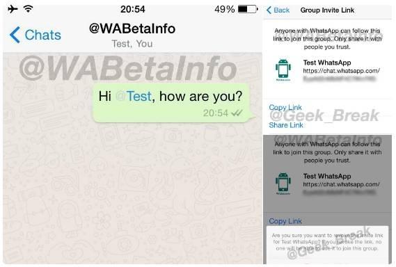 whatsapp etiketleme