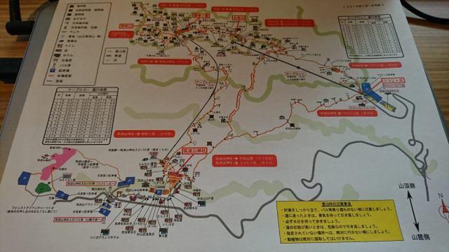 筑波山マップ