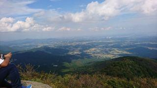 女体山山頂景色2