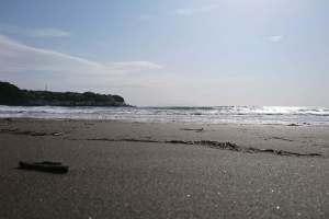 今井浜の浜辺