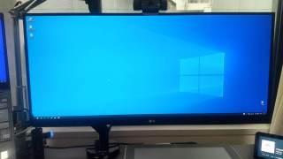 現在のデスクトップ